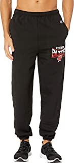 Mens Wisconsin Badgers Eco Powerblend Banded Pants