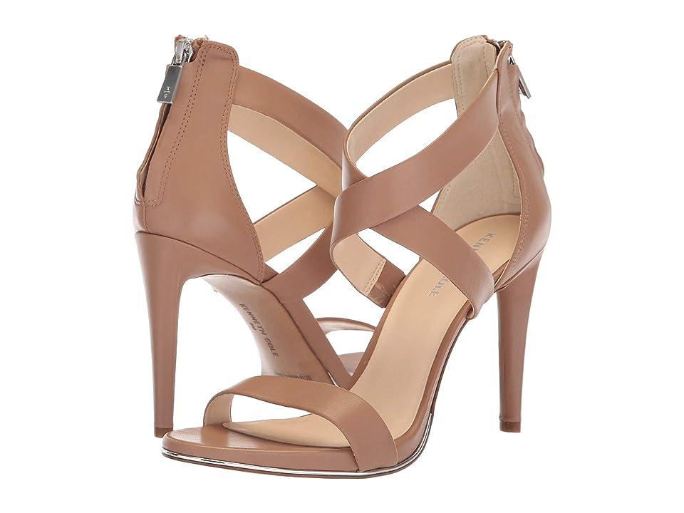 Kenneth Cole New York Brooke Cross Sandal (Latte Leather) Women