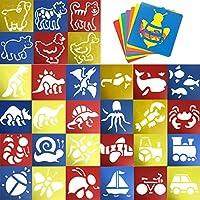 JT-Amigo 30pcs Set Plantilla de Dibujo para Niños