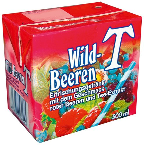 Eistee Eistee Wildbeere, 12er Pack (12 x 500 ml)