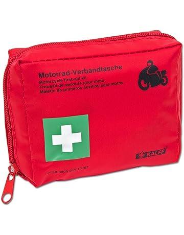 10x DA AUTO cassetta del pronto soccorso cassetta del pronto soccorso Nero Primo Soccorso MHD 07.2024