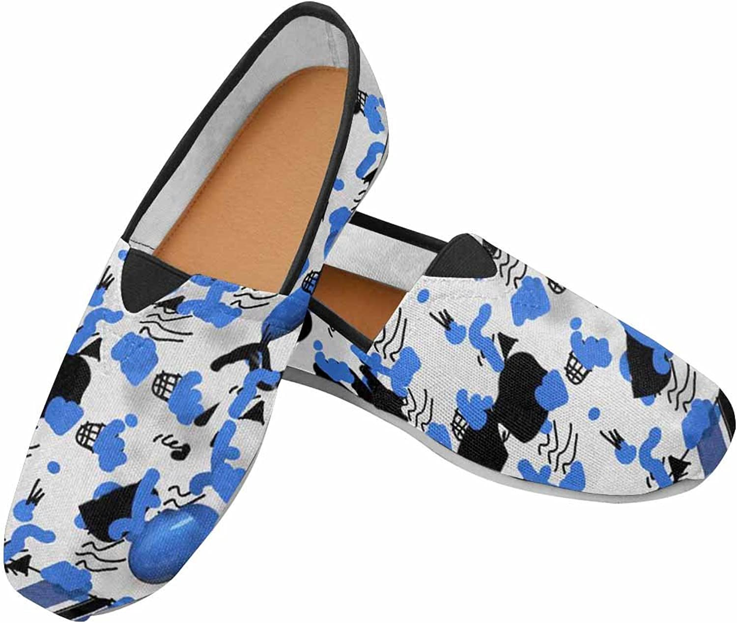 MingDe Sports Women's Casual Canvas Slip-On shoes