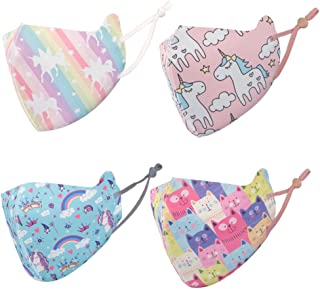 Kids Cloth Face Covering,Washable, Reusable, Multi...