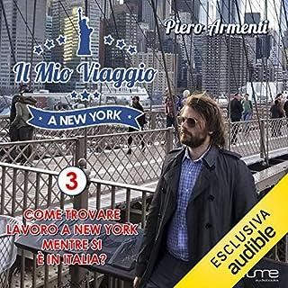 Come trovare lavoro a New York mente si è in Italia? copertina
