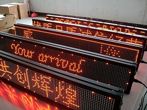 GOWE rolling, programmierbar, led-display, Rot