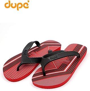 Dupe Red Flip Flop Thong Design Slipper for Mens