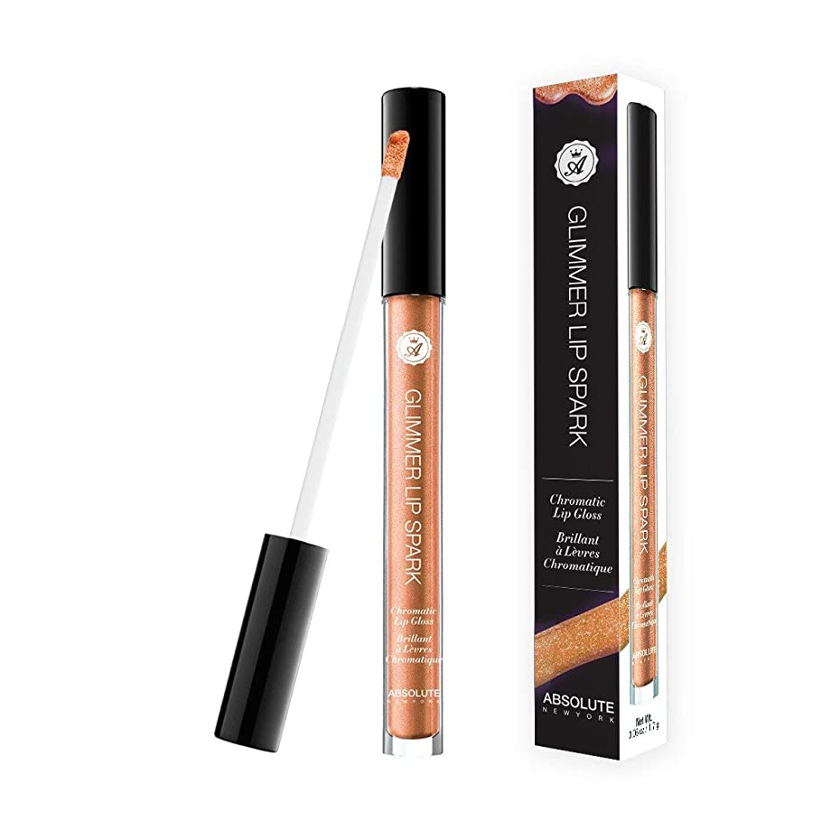 (3 Pack) ABSOLUTE Glimmer Lip Spark - Amber (並行輸入品)