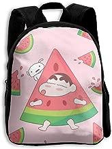 Kids Backpack Cute Crayon Shin-chan Print Childrens School Bag Teenager Bookbag for Boys Girls