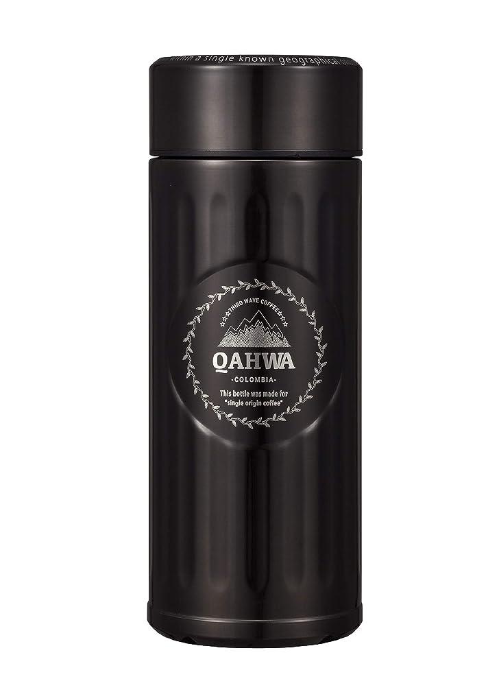 国旗腐敗した始まりシービージャパン 水筒 ブラウン 420ml 直飲み カフア コーヒー ボトル QAHWA