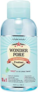 ETUDE HOUSE Wonder Pore Freshner 16.9 fl.oz. (500ml) - Pore Care Astringent with Peppermint Extract, Deep Cleansing, Sebum Control, pH4.5 Care, Makes Skin Pure