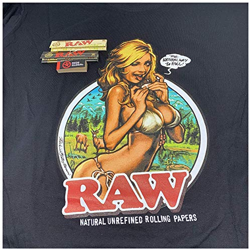 Reds exclusief RAW T-shirt Comic Print (Large)