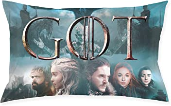 Game Of Thrones Got Logo Standard Size Pillow Case 20x30 With Hidden Zipper