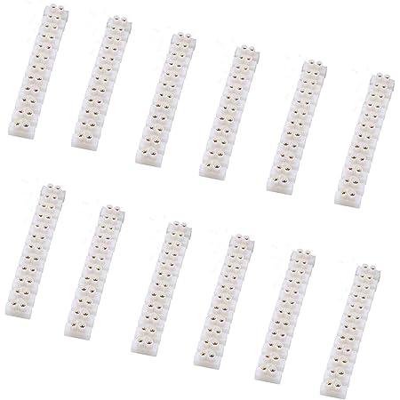 Qitindasen 40pcs Premium Ch3 Schnelldrahtverbinder Federverbindungsstück Verbindungsklemmen Kabelklemme Klemmenblock Elektrische Drähte An Die Led Streifen Licht Draht Anschluss Baumarkt