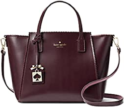 Kate Spade Turner Road Small Loryn Handbag in Mahogany Rich Rum Raisin