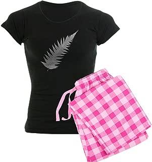 CafePress-Silver Fern Aotearoa-Womens Novelty Cotton Pajama Set, Comfortable PJ Sleepwear