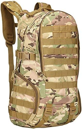 Lounayy 3P 40L Sac à Dos Sac Tactique Armée De Mode élégant Randonnée Camping Hommes Tactique Sacs Molle Vélo en Plein Air Escalade Sac à Dos (Couleur   2 Camouflage, Taille   One Taille)