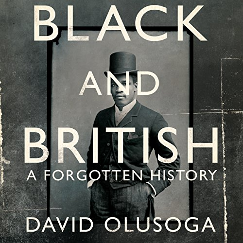 Black and British audiobook cover art