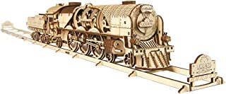 UGEARS Mechanical Model - V-Express Steam Train with Tender