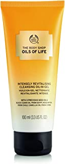 The Body Shop Oils of Life Intensely Revitalizing Cleansing Oil-In Gel, 3.3 Fl Oz (Vegan)