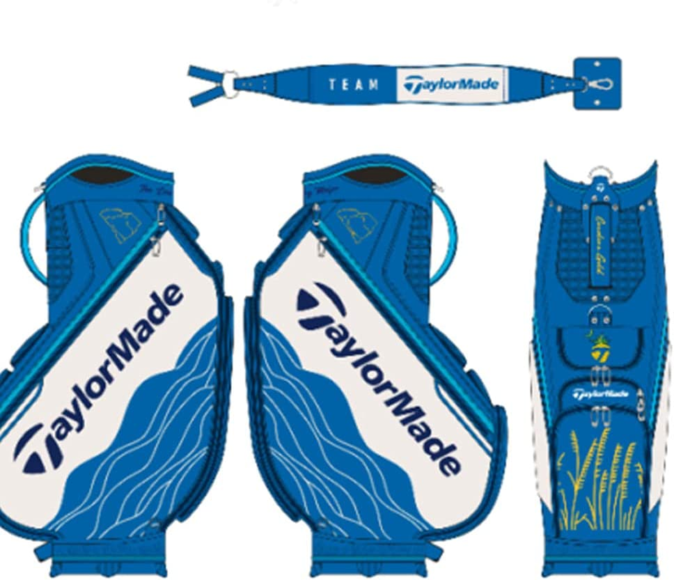 Brand Cheap Sale Venue TaylorMade New 2021 PGA Championship Edition Blue Limited White Outstanding