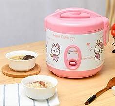 Mini Rijstkoker 1-4 Personen Huishoudelijke Kleine Hot Pot Slaapzaal Single Rice Cooker Beweegbare soeppot 2L kan worden g...