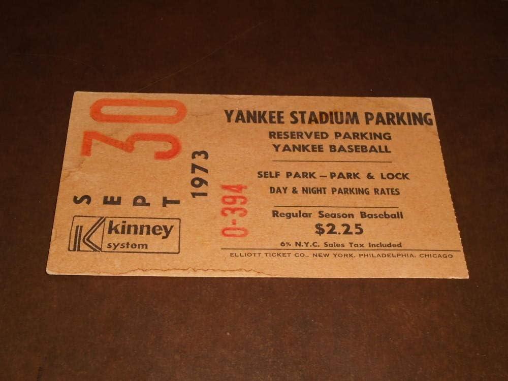 1973 NEW YORK YANKEES LAST GAME ORIGINAL Max Surprise price 64% OFF AT PLAYED YANKEE STADIU