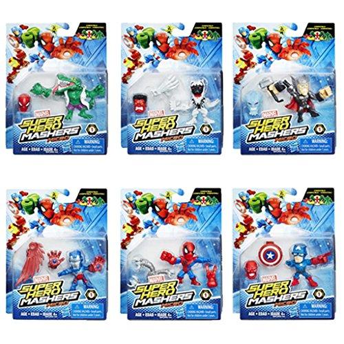 Marvel Avengers Micro Super Hero Mashers Assortment Figure Pack