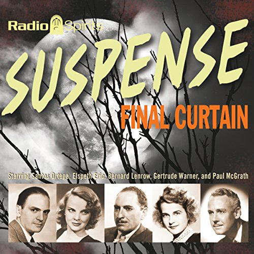Suspense: Final Curtain audiobook cover art