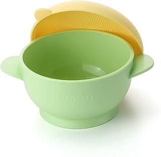 Simba Burger Suction Bowl, Green