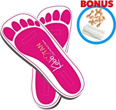 50 Pairs(100Feets) of Disposable Tanning Sticky Feet Pads; Sunless Airbrush Spray Tanning Tent Foot Protection Bonus 10 Mop Cap,10 Nose Filter