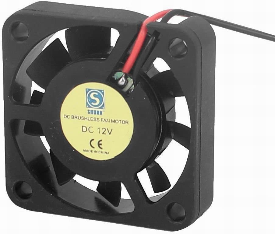 Houseuse DC 12V 40mmx40mmx10mm Brushless Case Cooling Washington Mall Fa 9 Vanes specialty shop