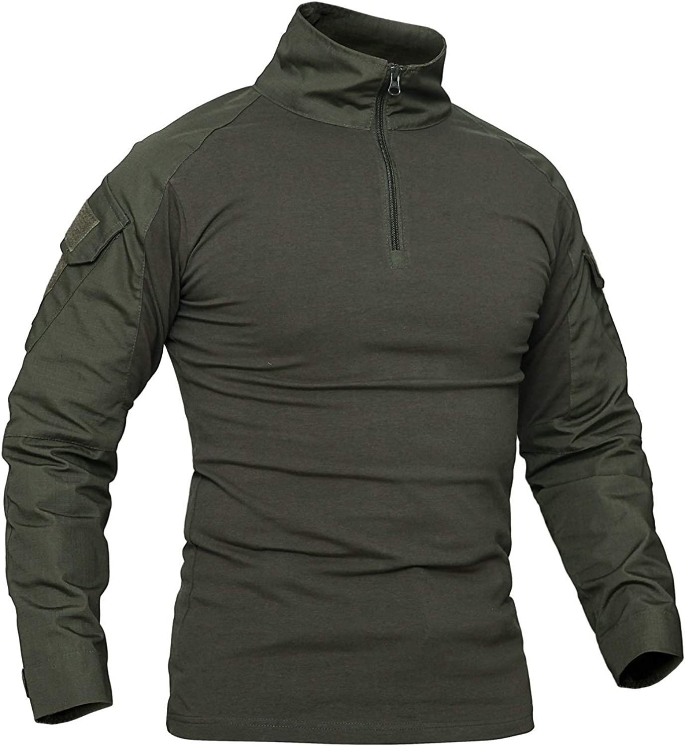 Shanghai Story Men's Max 90% OFF Military Tactical Camouflage Long Sleeve Ar Large-scale sale