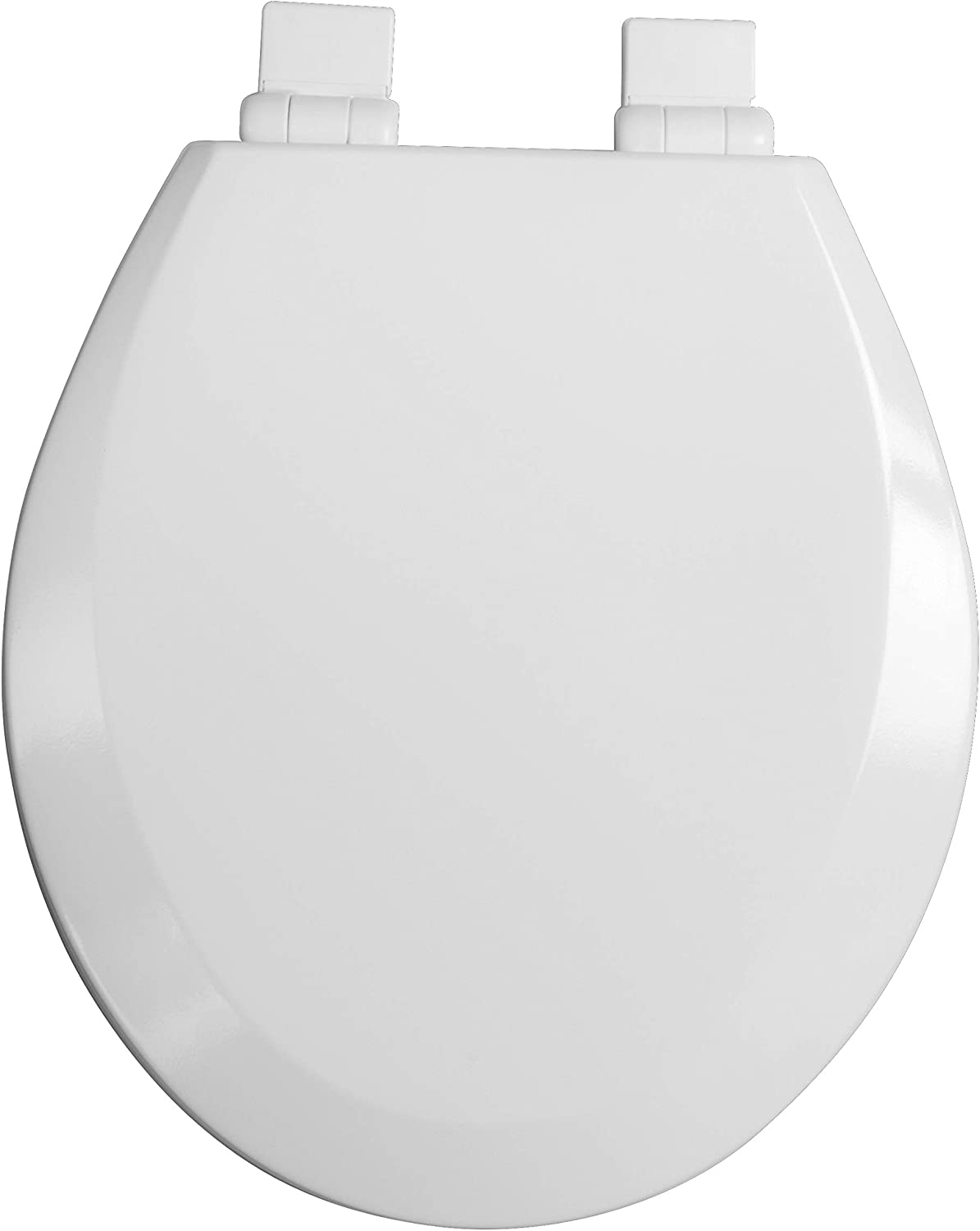 Croydex WL800622AZH Toilet Seat White Gifts Wood Molded Round Long Beach Mall