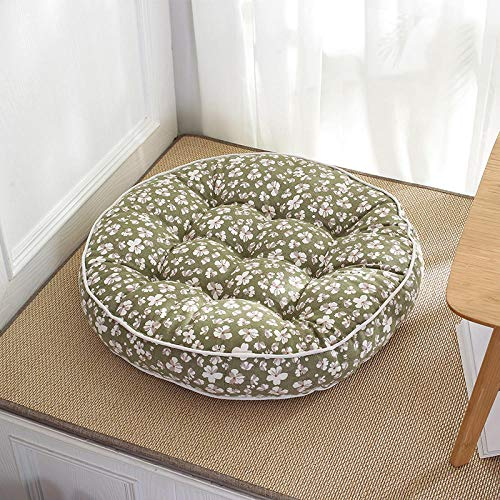 Chair Pads,Home Comfort Cotton and Linen Thick Soft Cushion-B_58*58