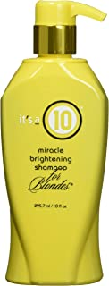 It's A 10 Miracle Brightening Shampoo for Blondes, 10 Ounce