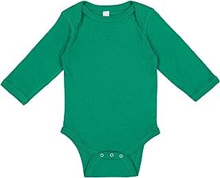 green onesie baby