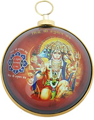 Divya Mantra Panchmukhi Hanuman Hanging in Heavy Brass