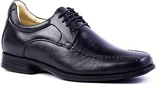 Sapato Masculino (Linha Up 7 cm + alto) 5494 em Couro Floater Preto Doctor Shoes