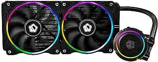 VANPOWER ID-COOLING ChromaFlow 240 CPU Water Cooler 12V RGB Liquid Cooling Radiator