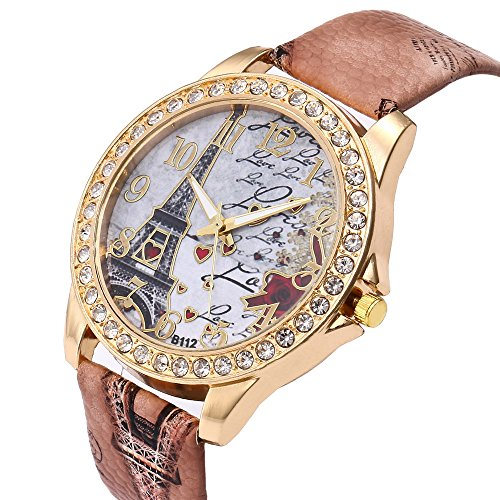 Reloj de la Manera de Las Mujeres de la Torre Eiffel de...