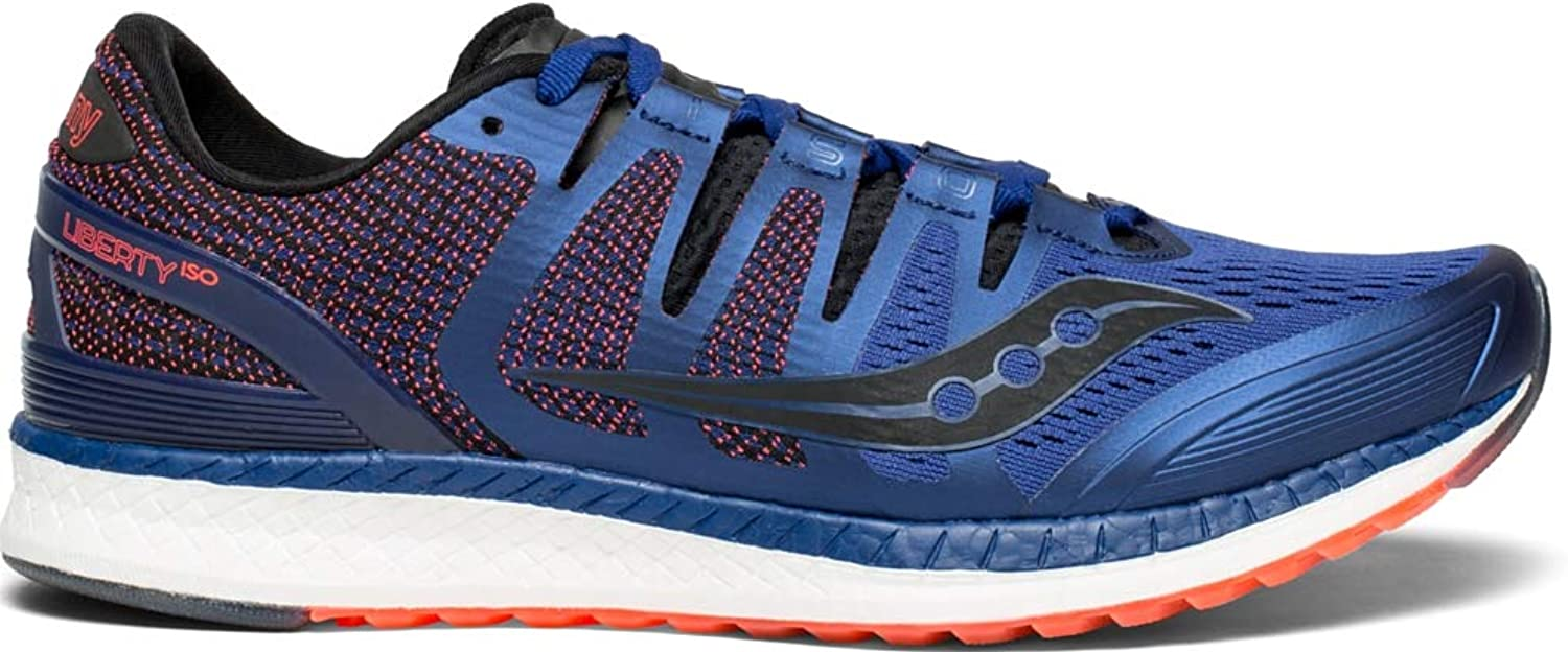 Saucony Men Liberty Iso Men Running shoes Stability Running shoes bluee - Black 8