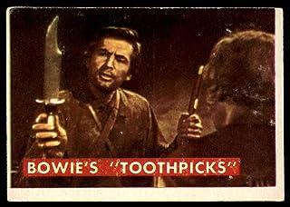1956 Topps Davy Crockett Green Back #53 Bowie/'s /'Toothpick/'  VG//EX
