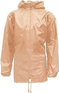 shelikes Adults Mens Womens Unisex Kagool Rain Jacket
