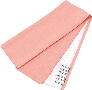 《ネコポス対応》(キステ)Kisste 重ね衿 礼装用 絹100% <桃/梨地模様> 5-6-03056