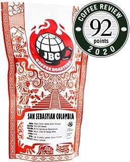 "JBC Coffee Roasters ""San Sebastian Colombia"" Light Roasted Whole Bean Coffee - 12 Ounce Bag"