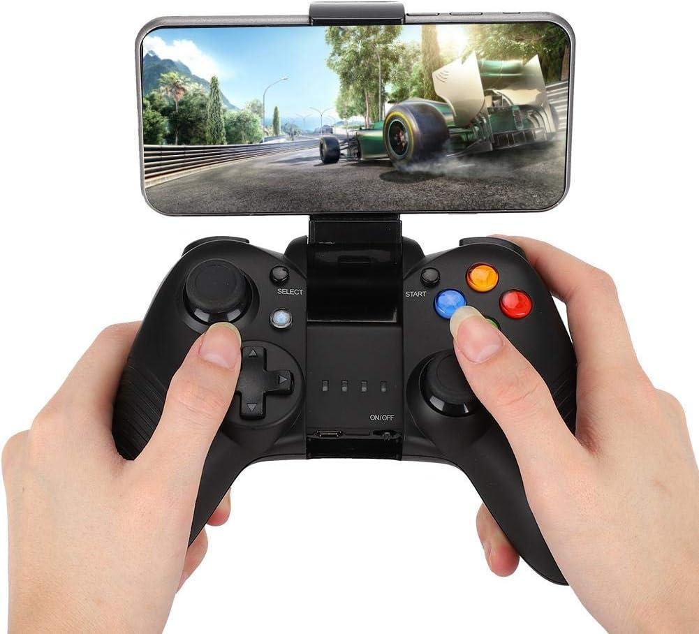 Schwarz Bewinner1 PC Gamepad Gaming Controller USB Wireless Bluetooth Gamepad Gaming Controller Joystick mit Energiesparmodus und Stabiler Verbindung f/ür Android//IOS//PC