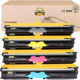 Compatible Toner Cartridges Replacement for EPSON S050100 S050197 S0501198 S050199 Toner Cartridge for EPSON Aculaser C900...