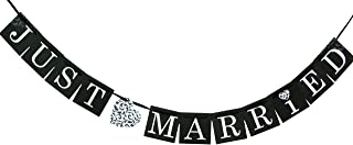 Hortense B. Hewitt Wedding Accessories Just Married Banner