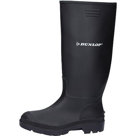 Dunlop Pricemastor PVC Welly / Mens Boots (10 UK) (Black)