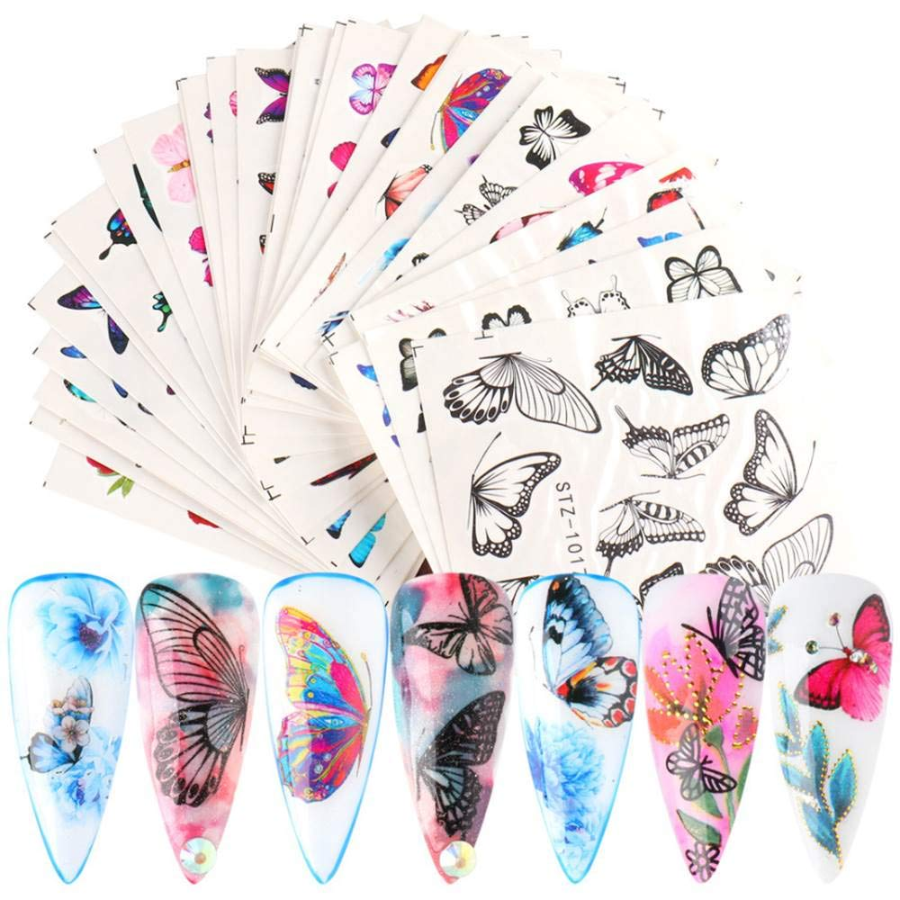 Dufy Butterfly Nail Bargain Art Des Ranking TOP3 Decals Sticker Flower